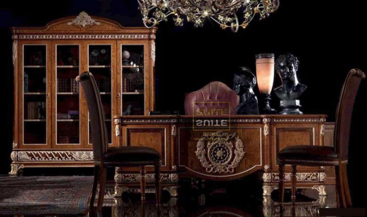 Klassik Ofis Mebeli VİP Klassik Müdir Dəsti