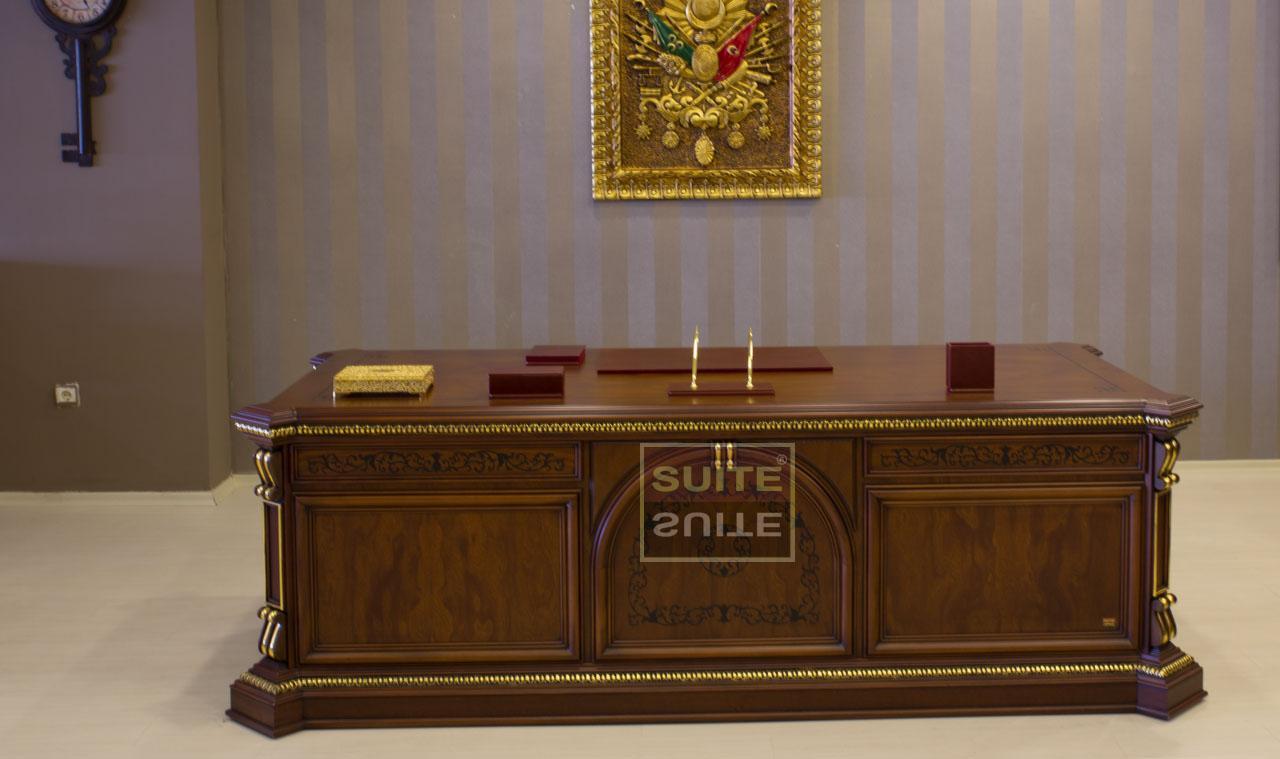 Klassik Ofis Mebeli Göktürk Klassik Mövqe Mebeli