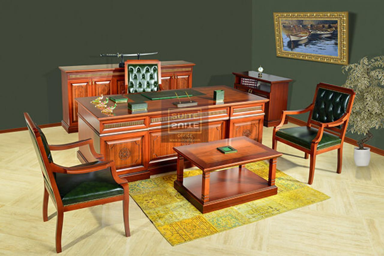 Classic Office Furnitures Selçuklu Classic Executive Set