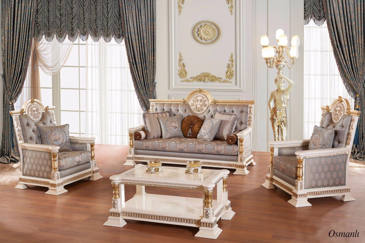 Klasik Varakli Osmanli Koltuk Takimi