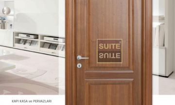 Office Doors Noyan Walnut Office Door