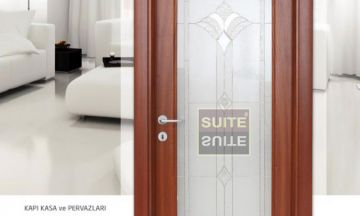 Office Doors Revan Sapelli  Office Door