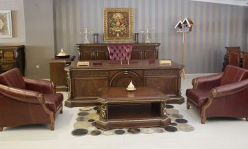 Classic Office Furnitures Göktürk Classic Authority Furniture