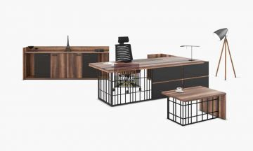 Modern Office Furnitures Anna Modern Executive Set