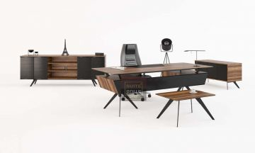 Modern Office Furnitures Lima Modern Executive Set