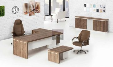 Modern Office Furnitures Fames Modern Executive Set