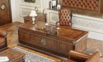 Classic Office Furnitures Alvise Classic Authority (Office) Set